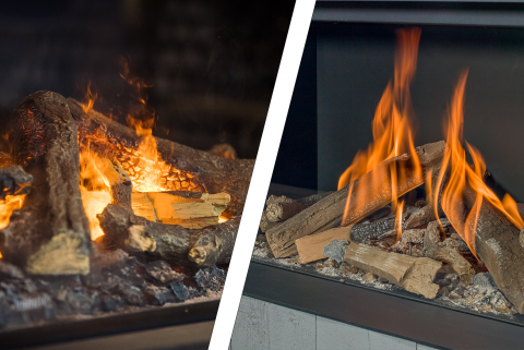 Are you going for an electric fire or a gas fire