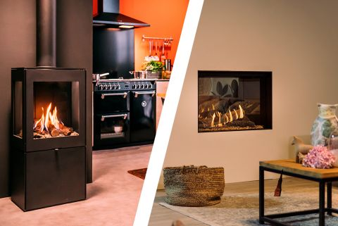 What do you need for a built-in fire or a free-standing stove